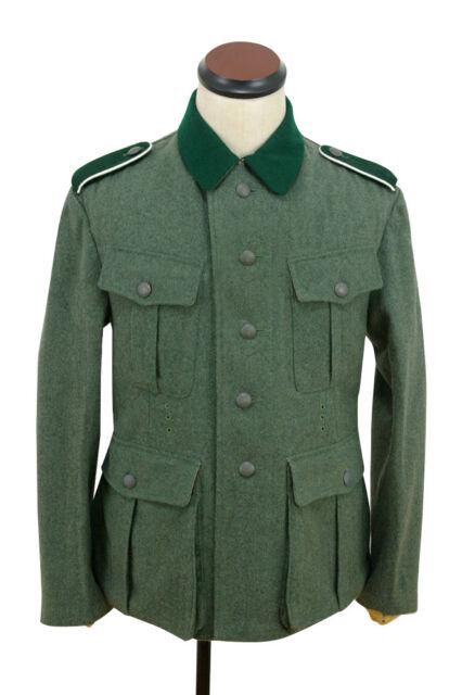 WW2 WWII GERMAN M36 EM WOOL FIELD MILITARY UNIFORM SET TUNIC /& TROUSERS  L