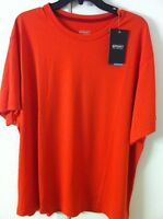 Xl Men's Sport Performance Short Sleeve T-shirt Cotton