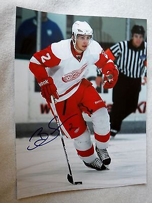 Detroit Red Wings Brendan Smith Signed 11x14 Photo Auto