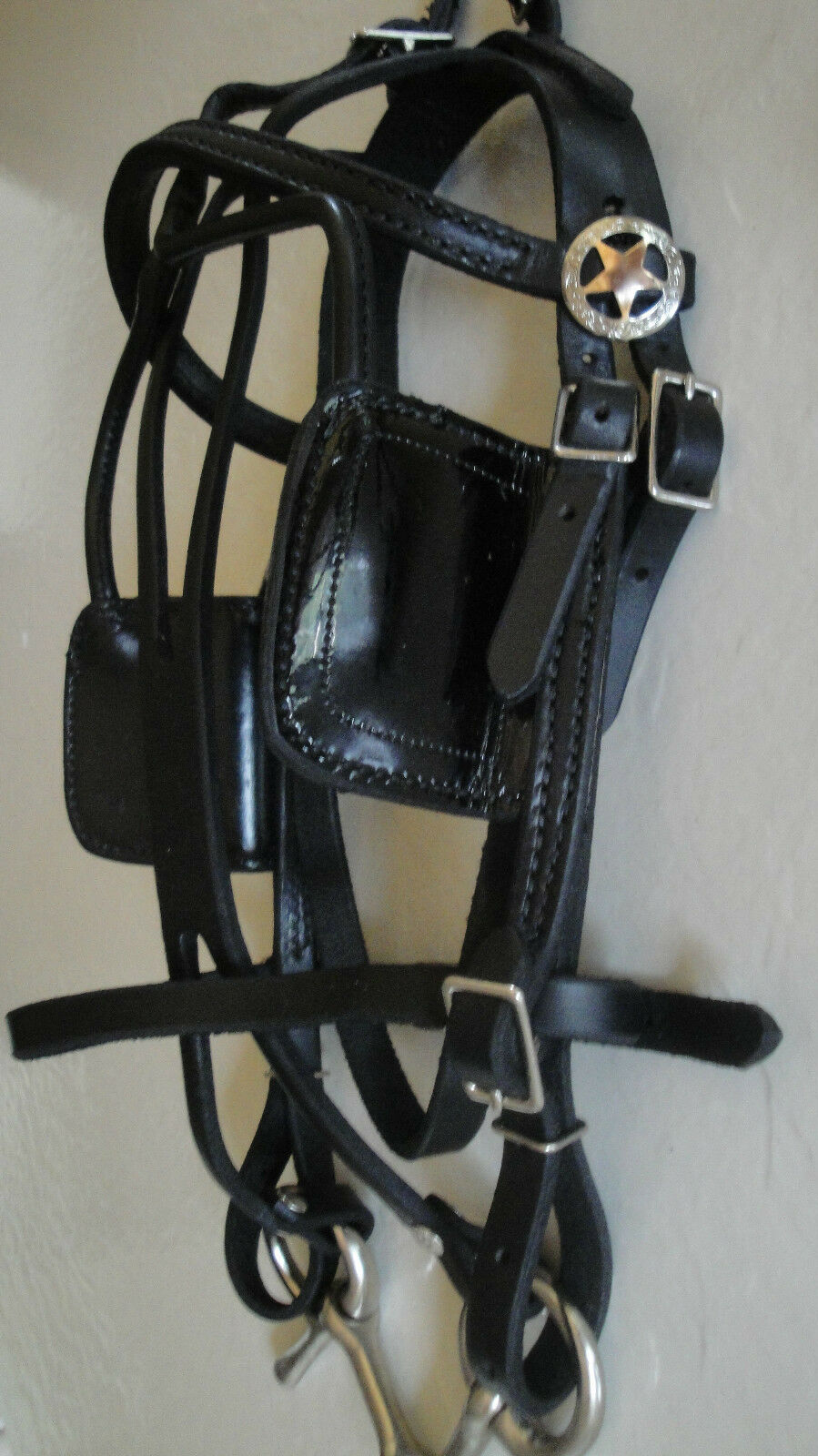 Miniature Horse Harness  USA Made  Leather Driving Harness made by the Amish