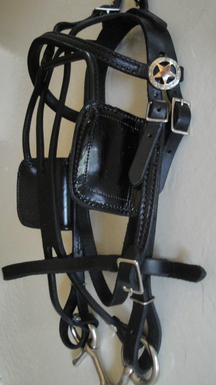 Arnés de caballo en miniatura   Arnés de conducción de cuero Hecho en Estados Unidos hecha por el Amish