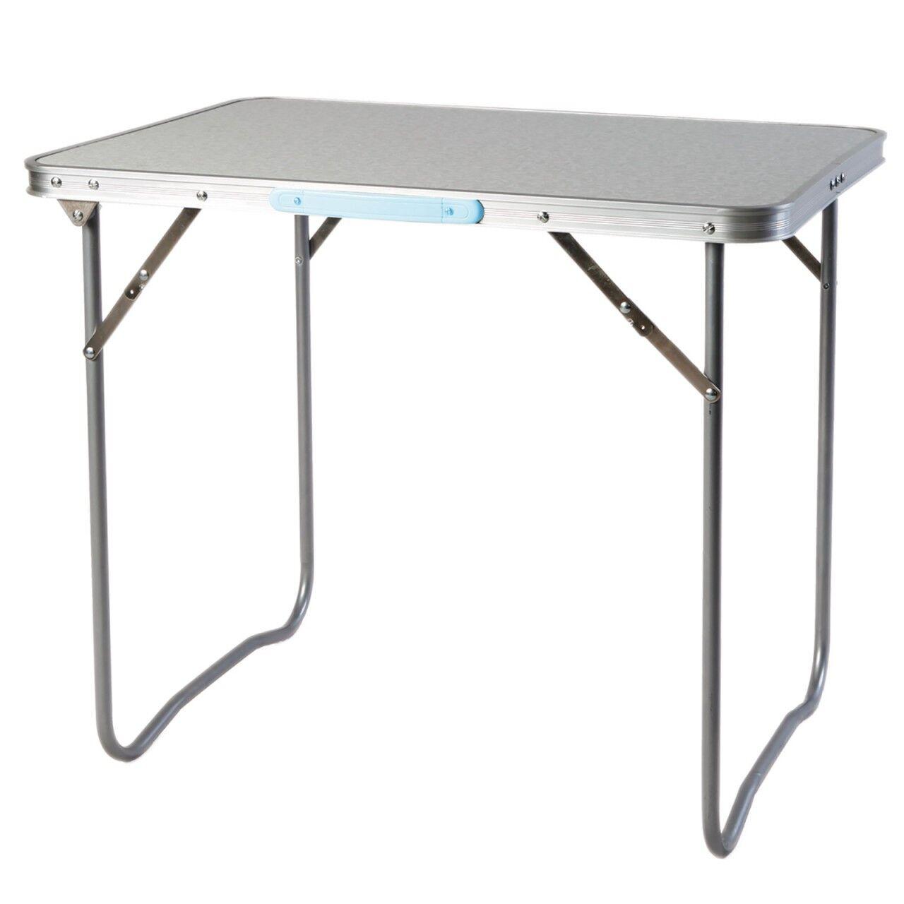 Campingtisch Tisch Lindner 2 Größen 70x50x60 und 80x60x70cm Alu Gestell lesen