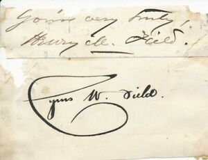 Cyrus-W-Field-Signature-of-the-Telegraph-Financier
