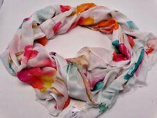 "Kate Spade Scarf-""Flavor of the Month"" Oblong-New With Tags"