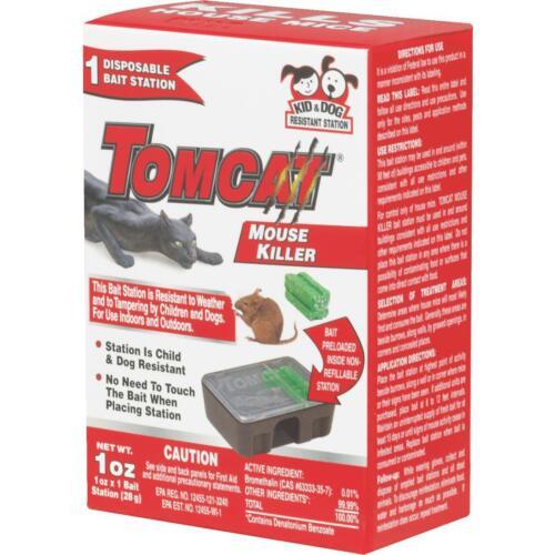 Tomcat 1Pk Dispos Bait Station