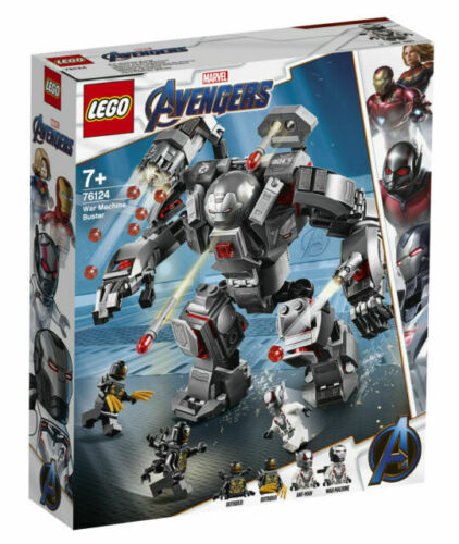 LEGO Marvel Super Heroes War Machine Buster Set NEW 362pcs 76124