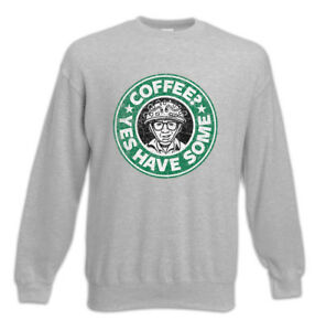 Fun Pullover Sweatshirt Some Have Coffee Halloween Coffeine Ghostbusters Yes CwBpgqPC