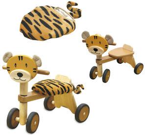 Rider Tiger Véhicule porteur Véhicule porteur Voiture en bois
