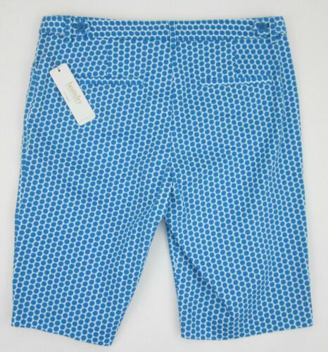 Segal Shorts 00 Blue Taglia Diva Shelli Bermuda NWT 179 Laundry 4 By 1wqa0t