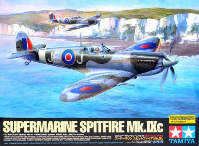 1 32 Tamiya Supermarine Spitfire Mk.IXc 60319 Japan