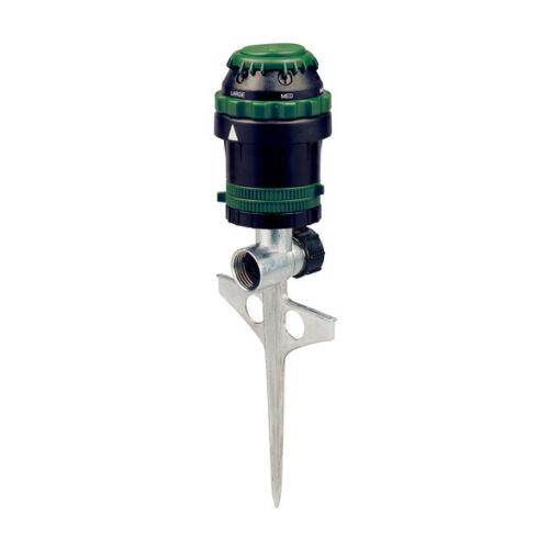 Lawn Watering 91475 Orbit H20-6 Gear Driven Sprinkler on Sturdy Spike Base
