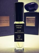 8ml Sample of CUIR AMETHYSTE by GIORGIO ARMANI PRIVE