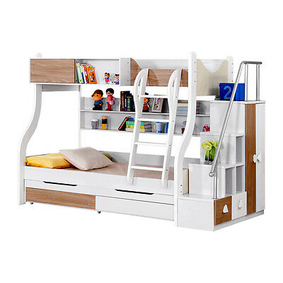 New Modern Design Triple Bunk bed With Storage Free Melb Delivery