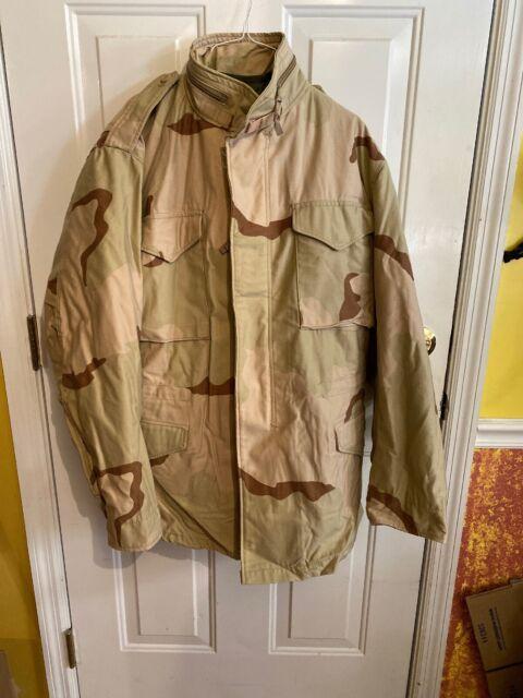 desert camouflage U.S M65 Fieldjacket Feldjacke//Parka Orig