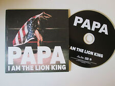 Papa - I Am The Lion King - UK 1 Track  Promo 2013