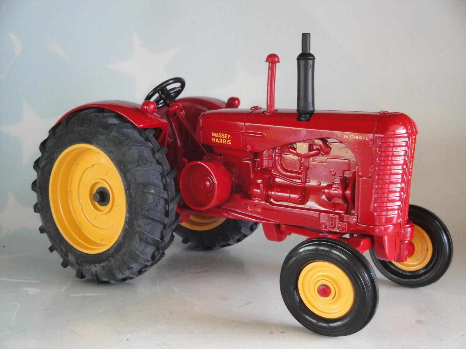 Massey Harris amplia amplia amplia frontal Tractor 55 Diesel 1 16 Juguete Granjero Ertl Diecast 1292-PA 4b921a
