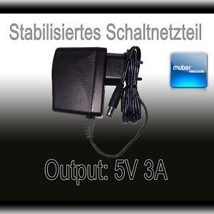 Netzteil 5V 3A 3000mA Steckernetztei<wbr/>l für D-Link DLink Netgear TP- Link.