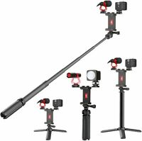 Sunpak Vlogging Kit with Cardioid Microphone and LED Video Light