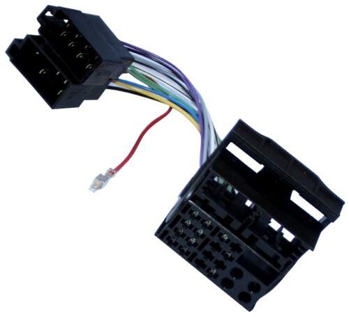 Adaptador cable enchufe ISO para autoradio de Mercedes Sprinter 609 Vito W639