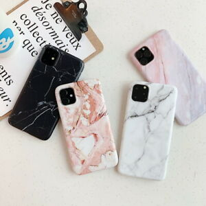 Marble-Design-Case-For-Apple-iPhone-11-Pro-XS-Max-7-8-Plus-Matte-Soft-Back-Cover