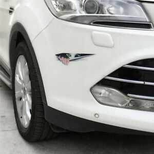 3D-Pegatina-Vista-trasera-del-coche-Decorativo-Impermeable-Pegatinas-PVC