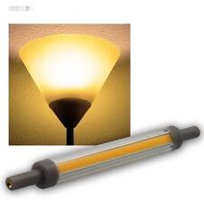 R7s Leuchtstab Leuchtmittel SLIM 118mm warmweiß 830lm 360° 10W Halogenstab Birne