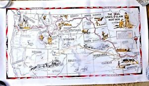 Montana And Idaho Map.Cartoon Map The Trail Of Lewis And Clark 1804 1806 Montana Idaho