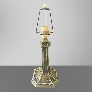 Pied Lampe sur Hauteur 47 cm Interrupteur Tiffany à Table avec Laiton Détails Cordon de IbgyvfY76