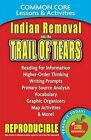 Indian Removal and the Trail of Tears Common Core Lessons & Activities by Caroel Marsh (Paperback / softback, 2013)