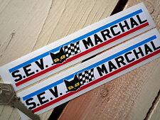 SEV Marchal  GT40 Ligier Jaguar Le Mans 24 hour pair of stickers 7 inch 180mm
