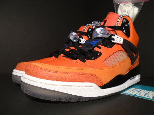395c2b65cc14 ... NIKE NIKE NIKE AIR JORDAN SPIZIKE NEW YORK KNICKS ORANGE BLUE WHITE  BLACK 315371-805 ...