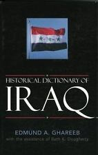 Historical Dictionary of Iraq (Historical Dictionaries of Asia, Oceani-ExLibrary