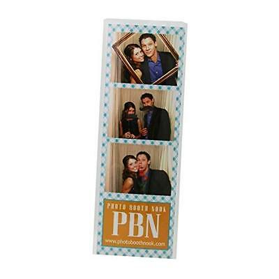 """100 Photo Booth Bookmark Sleeve Strip Protectors for 2"""" X 6"""" Pictures New"""