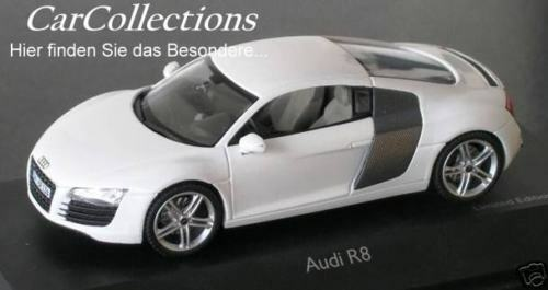 Audi r8 4.2 Store Quattro Ibisweiss Limited Edition 1.500 pièce SCHUCO 1 43 NEUF