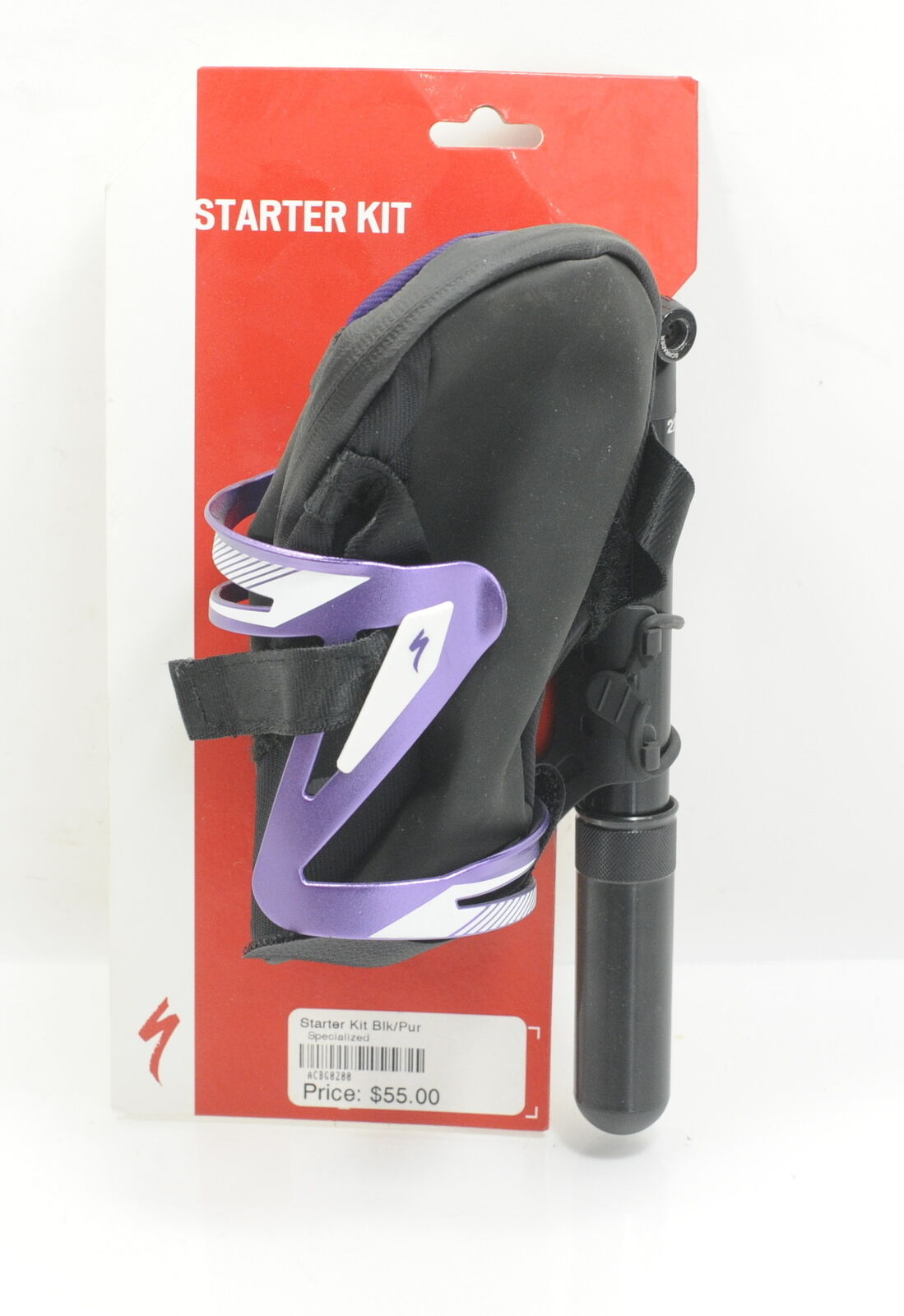Specialized Starter Kit  Bottle CageMini Pump Seat Bag Brand New