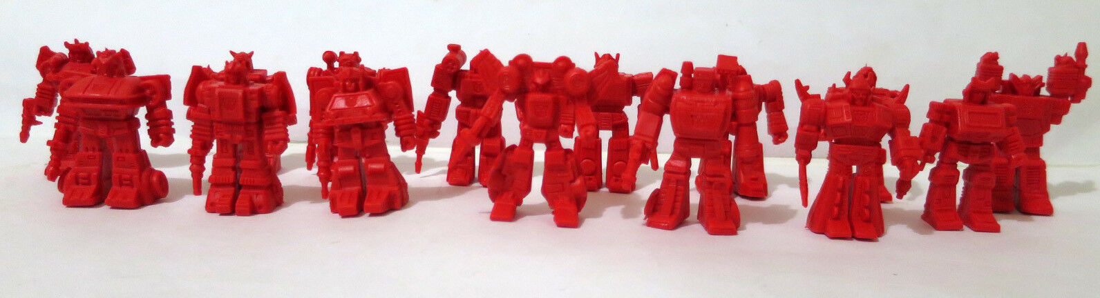 Lot of 15 Vintage Transformers Keshi Gomu figures Japan '80s Takara G1 Japanese