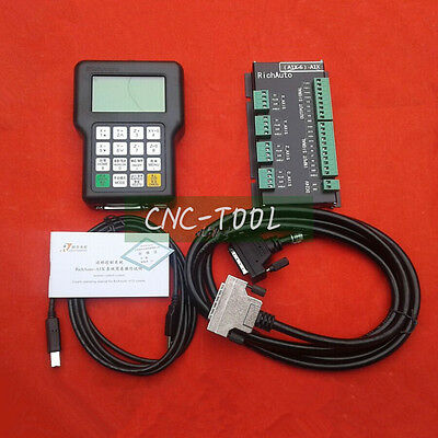 RichAuto A11E 3 axis CNC DSP controller for CNC Engraver English Version