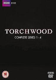 Torchwood - Series 1-4 - Complete (DVD, 2011, 18-Disc Set, Box Set) for  sale online | eBay