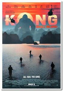 Kong Skull Island 2017 Original D S 27x40 Movie Poster B Samuel L Jackson Ebay