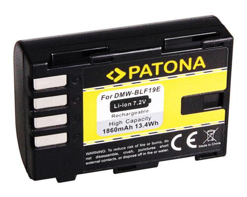 Batteria Patona 7,2V 1860mAh per Panasonic Lumix DMC-GH4U,DC-G9