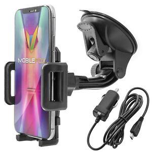 360-KFZ-Auto-Halter-Halterung-fuer-Samsung-Galaxy-S7-S6-S5-mini-Edge-Ladekabel