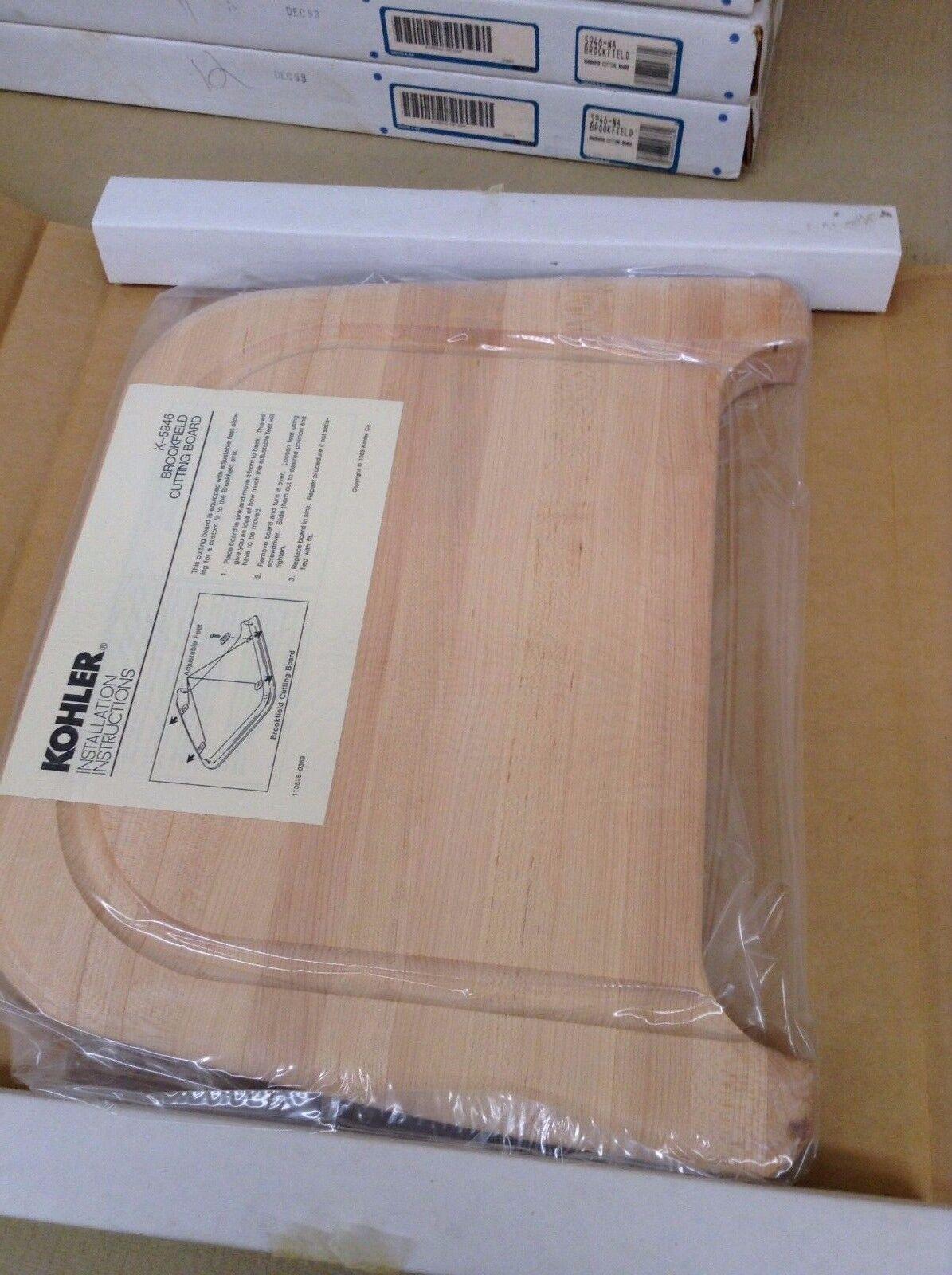 KOHLER BROOKFIELD hardwood cutting board K-5946 - K-5946-NA