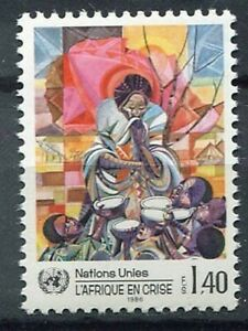 19590) United Nations (Geneve) 1985 MNH Nuevo Aid To Africa