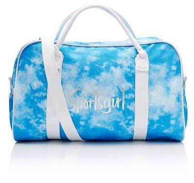 500877c055 BRAND NEW   TAGS Sportsgirl Rewind - blue tie dye Duffle Bag Blue FREE POST