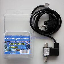 Aqua Light CO2 Magnetventil Elektrisches Abspeerventil für CO2 Anlagen Aquarien