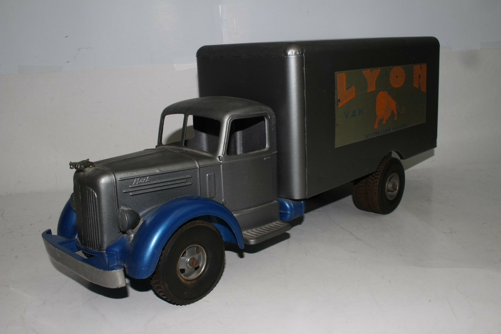 594ms Smith Miller L Modelo Mack , Lyons Furgoneta Líneas Entrega Camión, 2