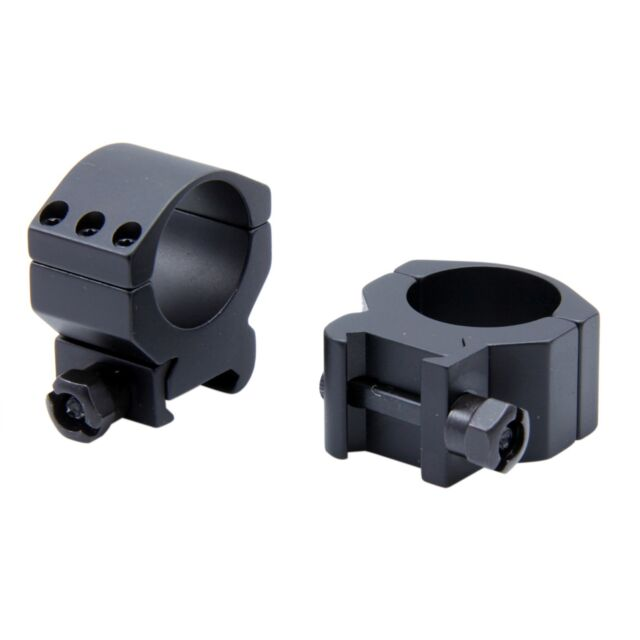 CCOP 30mm Matte Picatinny Weaver Style Rifle Scope Rings Mid Profile AR-3003WM