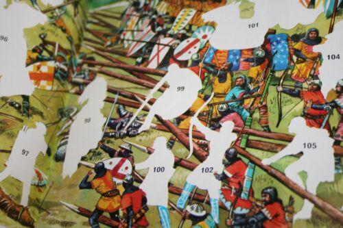 Historique batailles Cox Sticker LEERALBUM avec 200 Stickers Pochettes Camp résolution