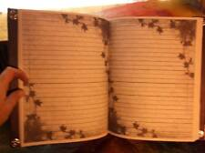 """Custom Journal Book of Shadows / Mirrors Witchy Grimoire Pagan Witchcraft 9x11"""""""