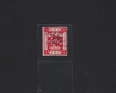 Offizielle Website Jordan 1922 Nov Eef Issue 4 Mills Perf 15 X 14 Sg 23 Gebraucht Mittlerer Osten